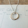 Double Circles Necklace