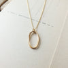 Double Ovals Necklace