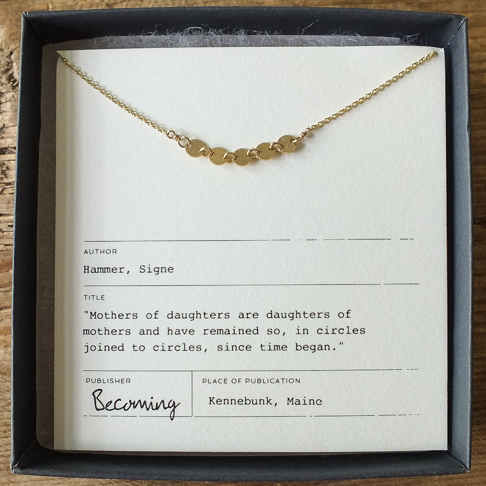 Mothers & Daughters Necklace