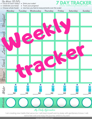 FREE Weekly Tracker
