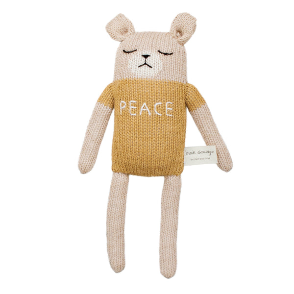 Doudou Ours Peace