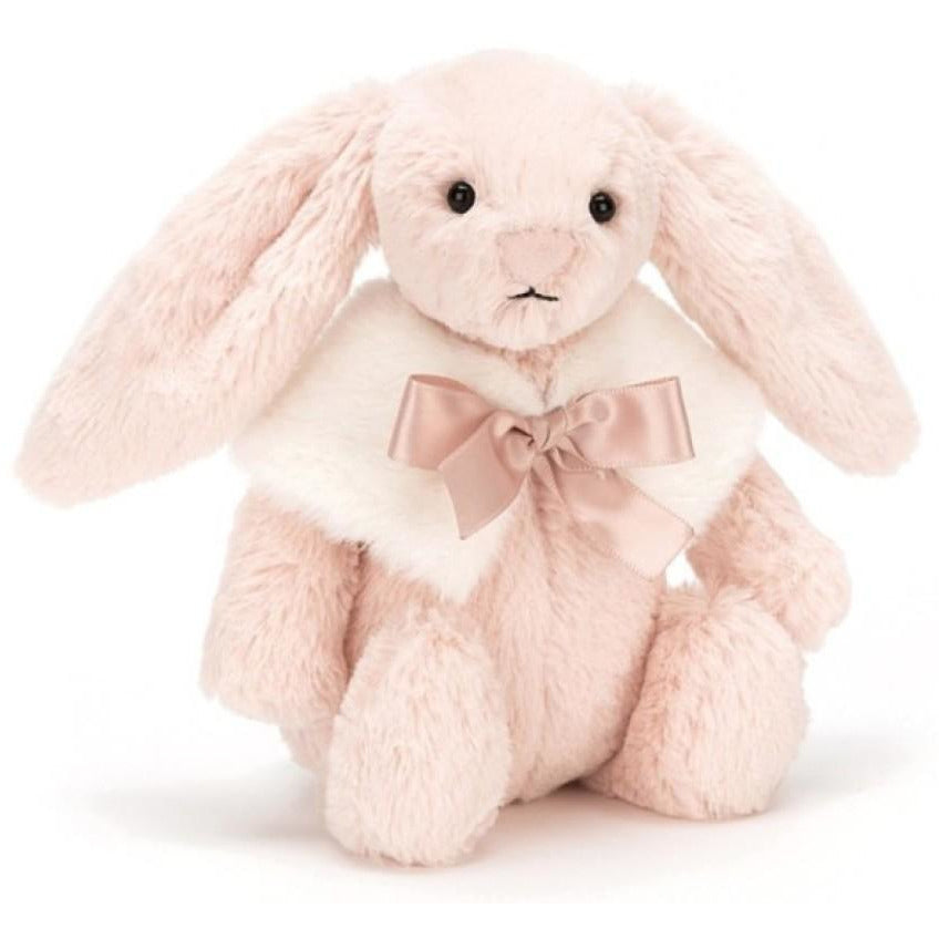 Mini doudou lapin rose