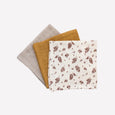 Pack de 3 mini langes Meadow