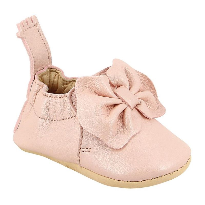 Chaussons Blumoo Noeud rose