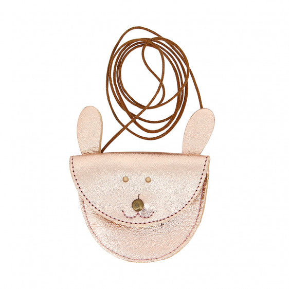 Collier lapin rose gold