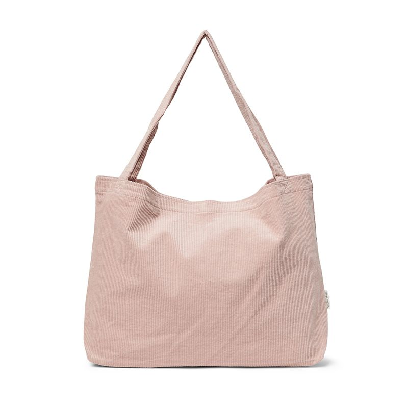 Mom-bag Dusty pink rib