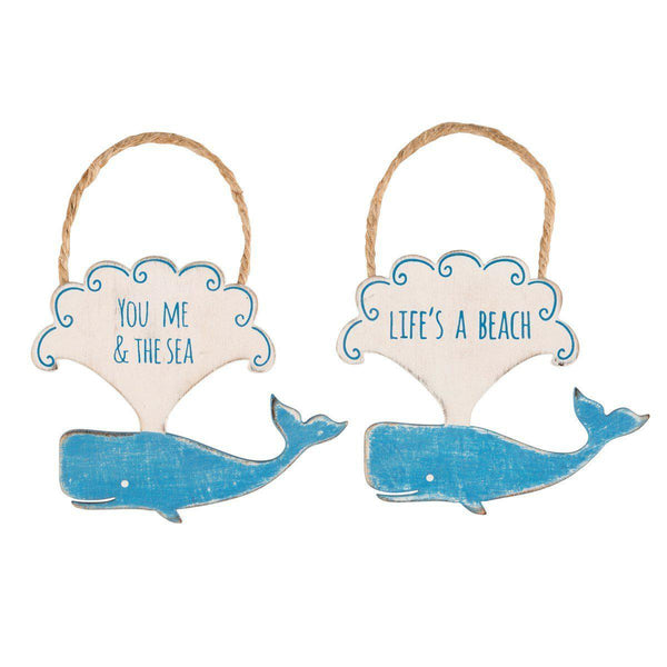 Decoratiune de perete Sass & Belle Happy Whale