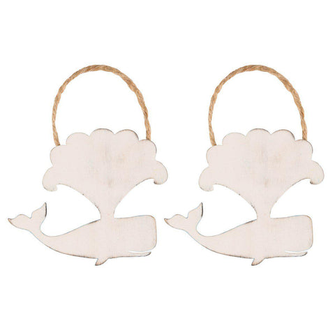 Decoratiune de perete Sass & Belle Happy Whale Verso