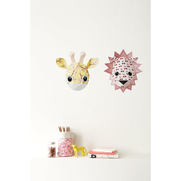 Sticker decorativ copii Giraffe Blossom
