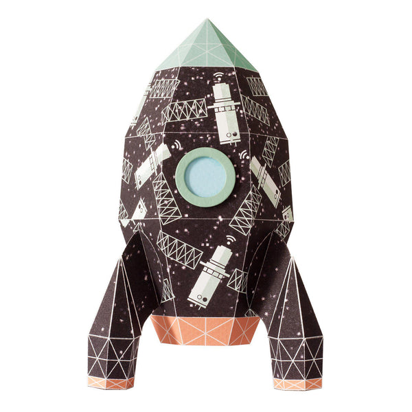 Sticker decorativ pentru perete Rocket Satellite