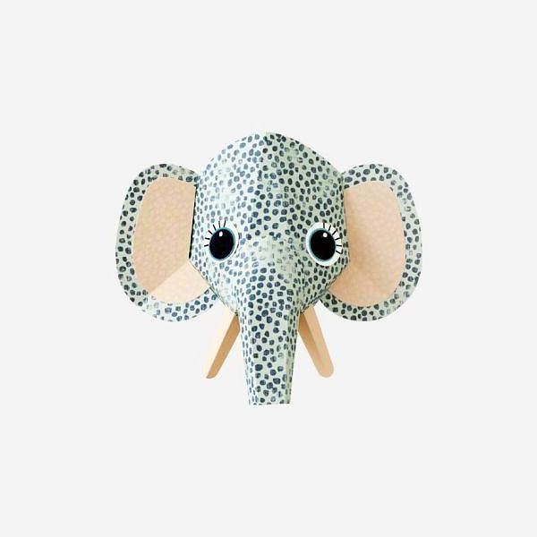 Sticker decorativ Elephant spots 27 x 24 cm