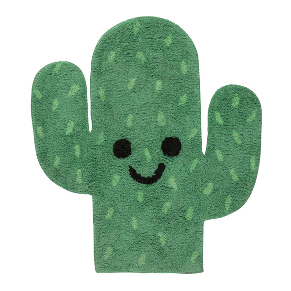 Covoraș decorativ Happy Cactus, bumbac