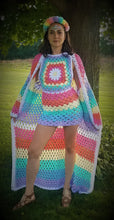 Pretty in Pastel Crochet Cardigan