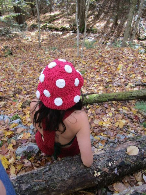 Toadstool Bucket Hat/Pixie Hat