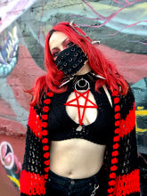 Blood Magic Pentagram Crop Top