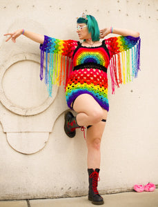 Dripping Rainbows Dress