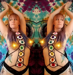 Chakralicious body harness