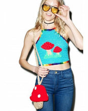 Magic Mushroom Crop Top