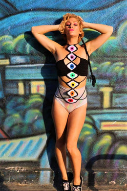 All Seeing Chakra Playsuit