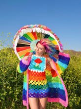 Psychedelic Rainbow Jumper