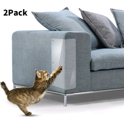 Film de protection autocollant pour meubles anti-griffes de chat Light Slate Gray Housse De France