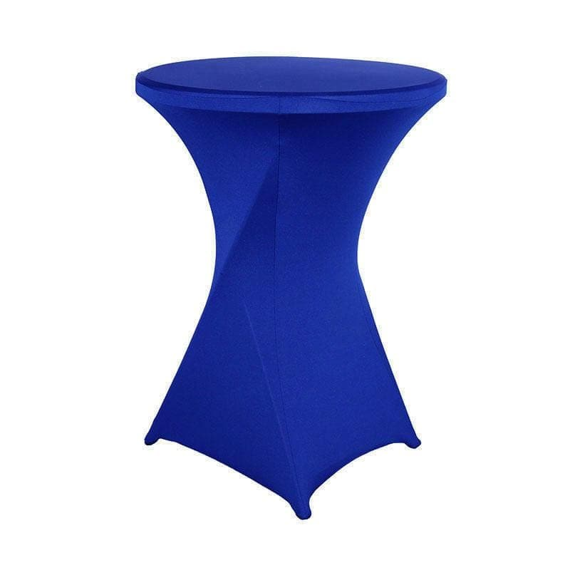 Housse De France Table Bleu foncé / L Housse de table de cocktail