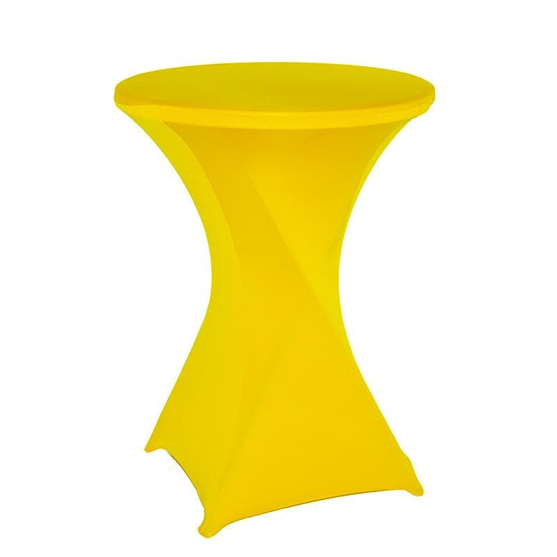 Housse De France Table Jaune / M Housse de table de cocktail