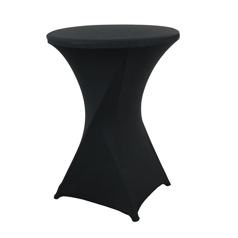 Housse De France Table Noir / S Housse de table de cocktail