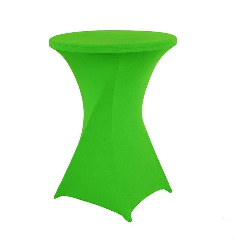 Housse De France Table Vert clair / L Housse de table de cocktail