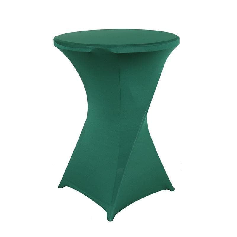 Housse De France Table Vert foncé / S Housse de table de cocktail