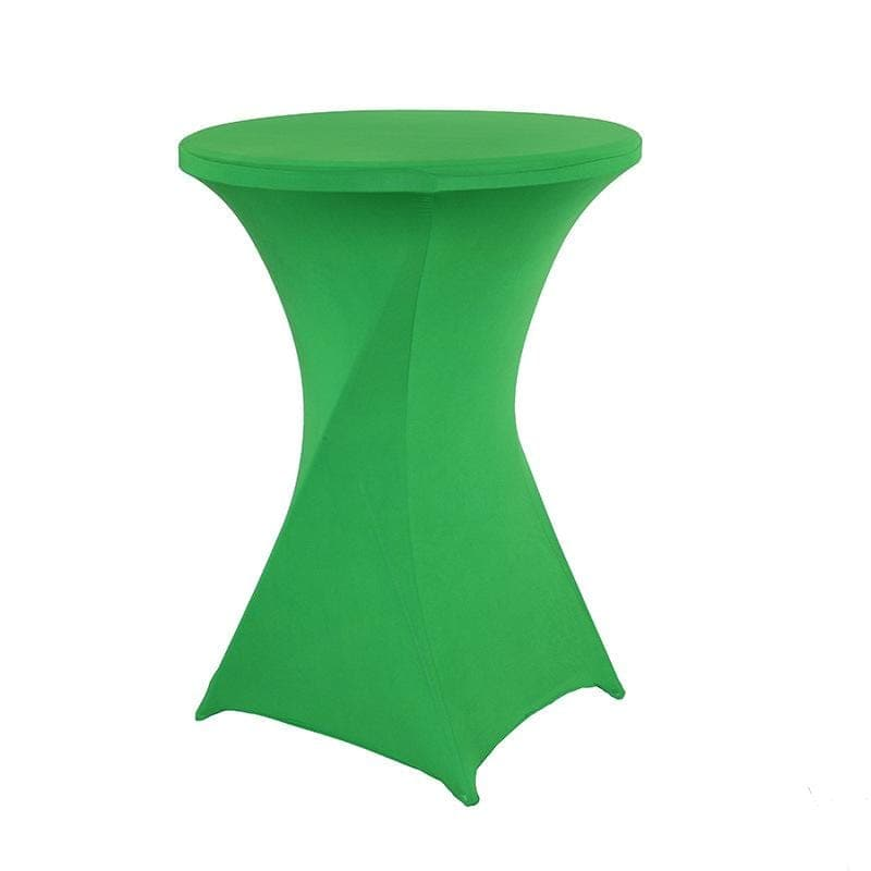 Housse De France Table Vert / M Housse de table de cocktail