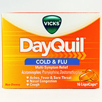 DAYQUIL COLD & FLU - E-Pharmacy Ghana