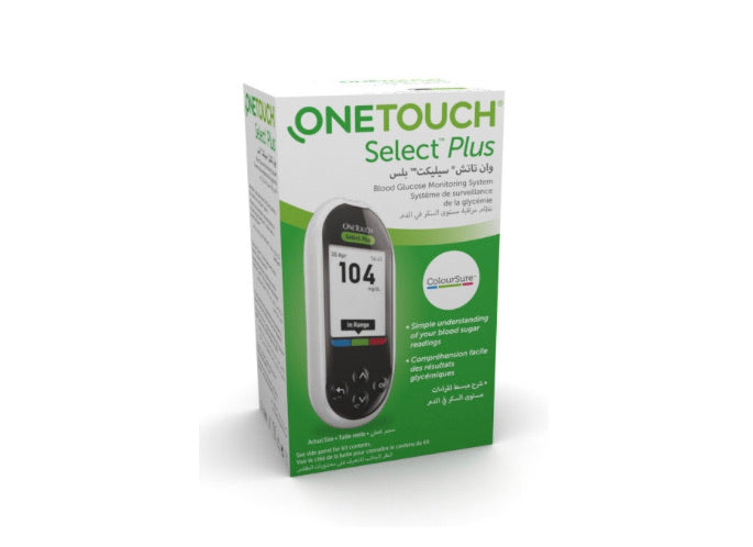 ONE TOUCH SELECT PLUS METER - E-Pharmacy Ghana