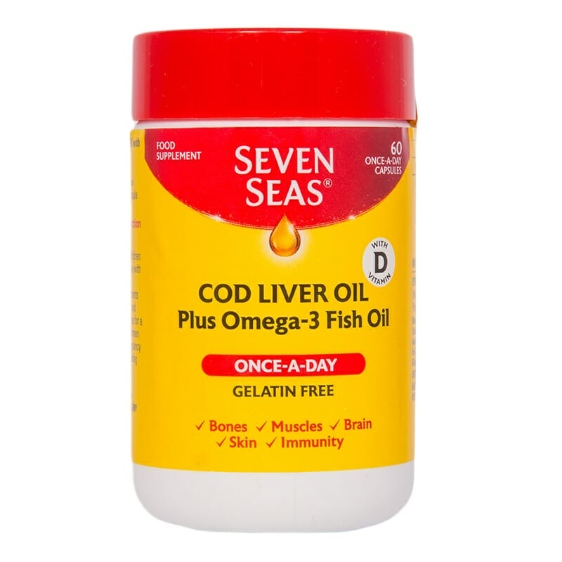 SEVEN SEAS COD LIVER OIL PLUS OMEGA-3 FISH OIL - E-Pharmacy Ghana