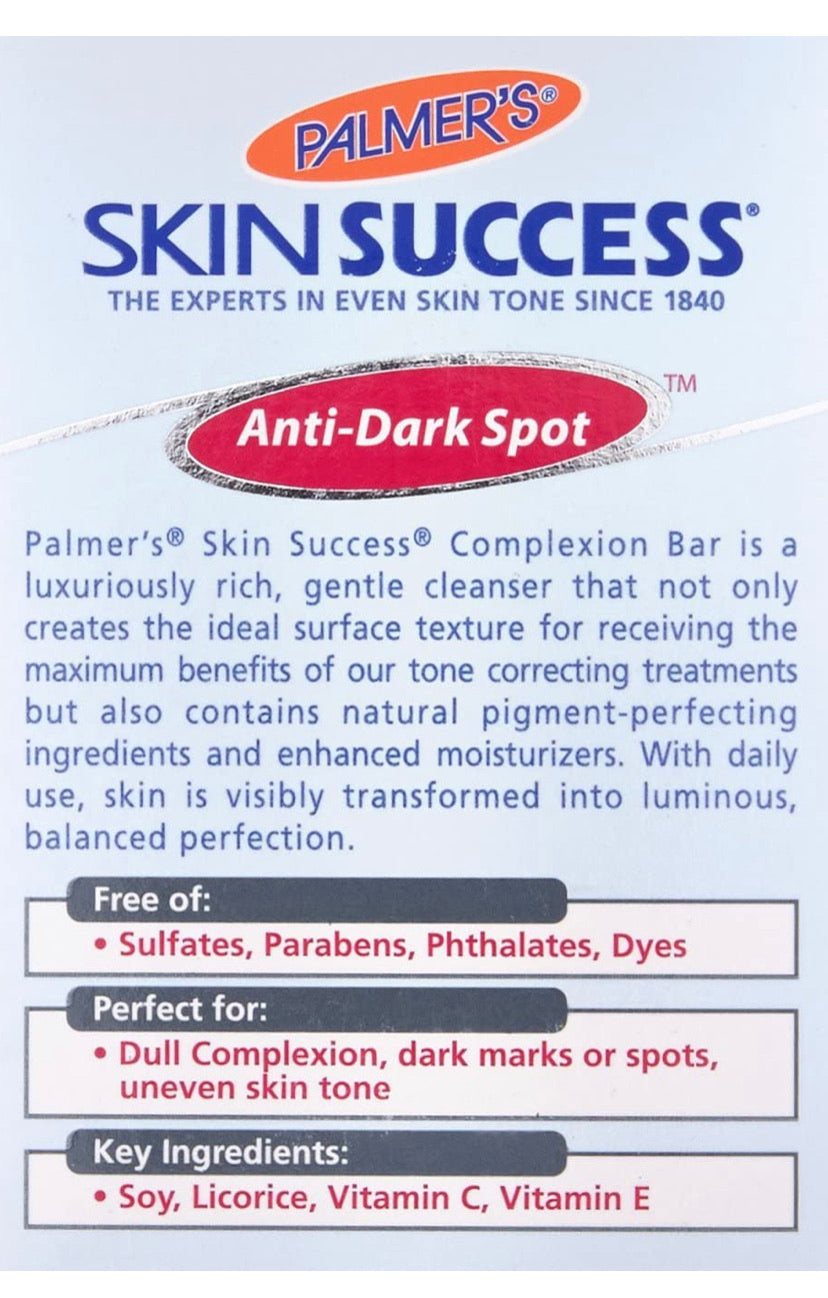 PALMER'S SKIN SUCCESS COMPLEXION SOAP - E-Pharmacy Ghana