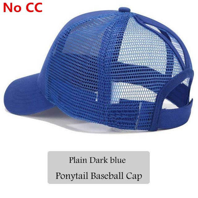23fae43a6109a Classy Ponytail Baseball Cap For Women   – Bed Rock Fashion