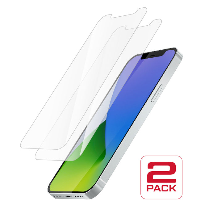 Protective Glass for iPhone 12 Pro Max<br>Dual Pack