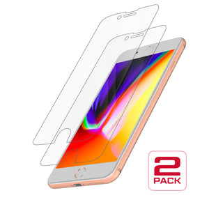 Protective Glass for iPhone 8 Plus/7 Plus/6S Plus/6 Plus<br>Dual Pack
