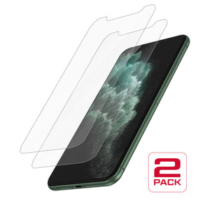 Protective Glass for iPhone 11 Pro / XS / X<br>Dual Pack