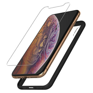Protective Glass & Case for iPhone XS