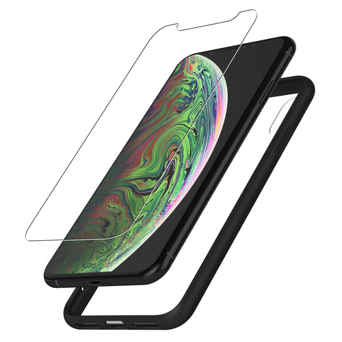 Protective Glass & Case for iPhone Xs Max