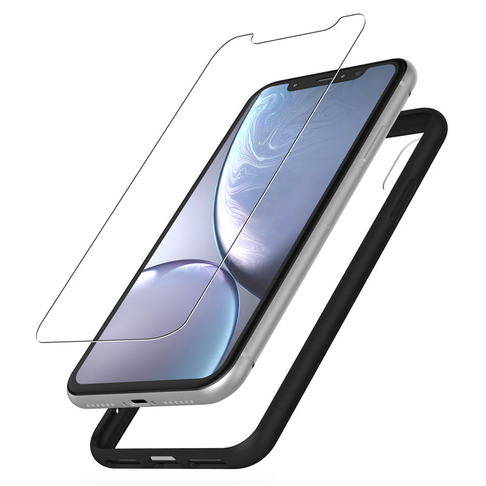 Protective Glass & Case for iPhone XR
