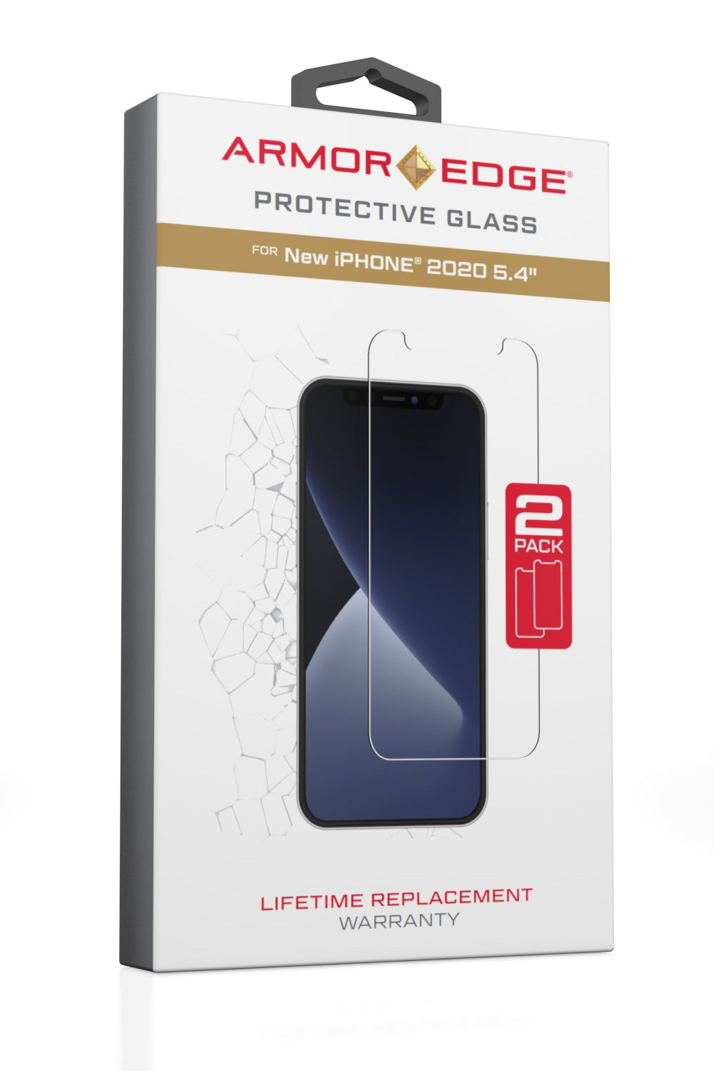 Protective Glass for iPhone 12 Mini <br>Dual Pack