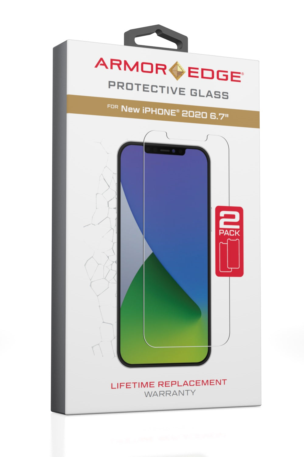 Protective Glass for iPhone 12 Pro Max - Dual Pack