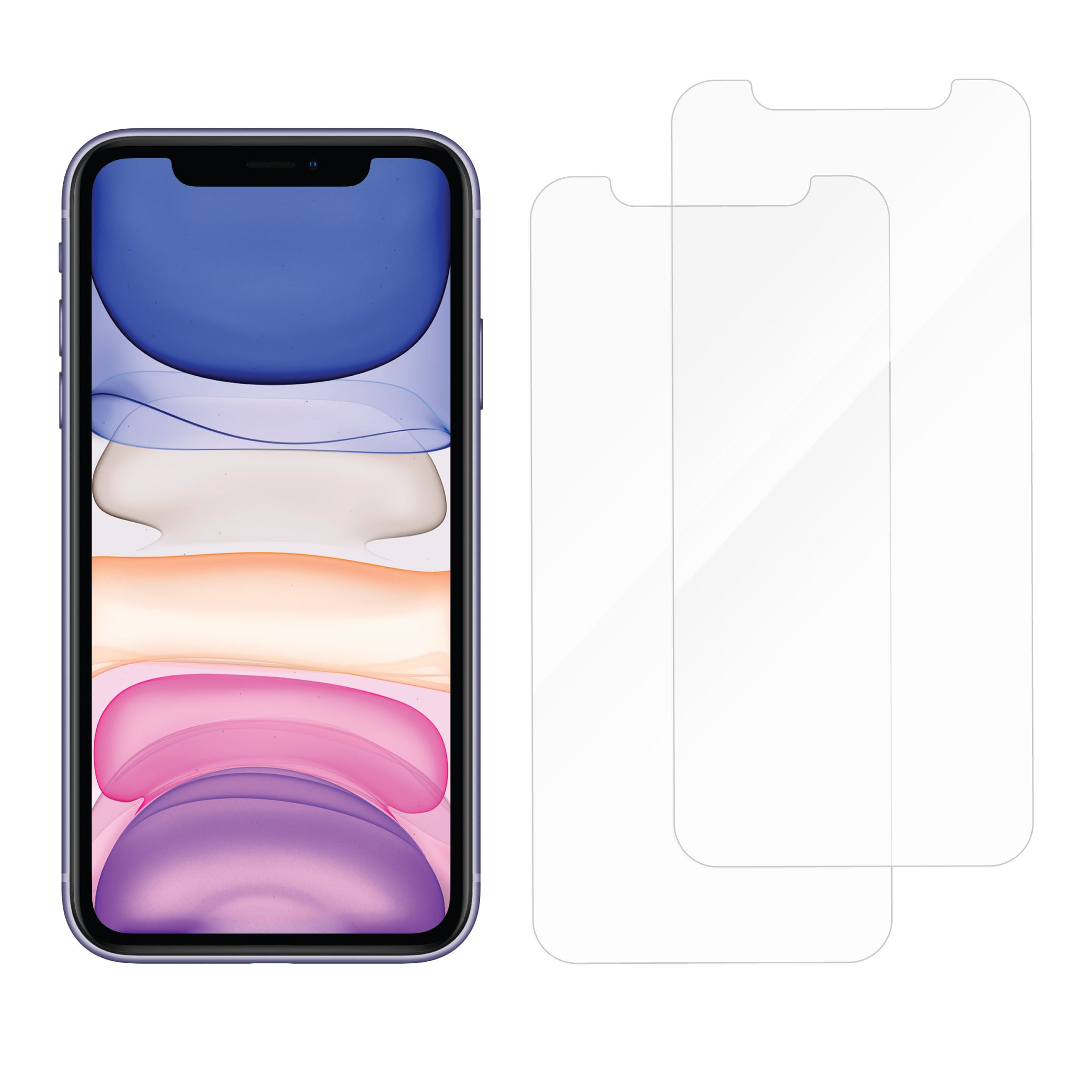 Protective Glass for iPhone 11 / XR - Dual Pack