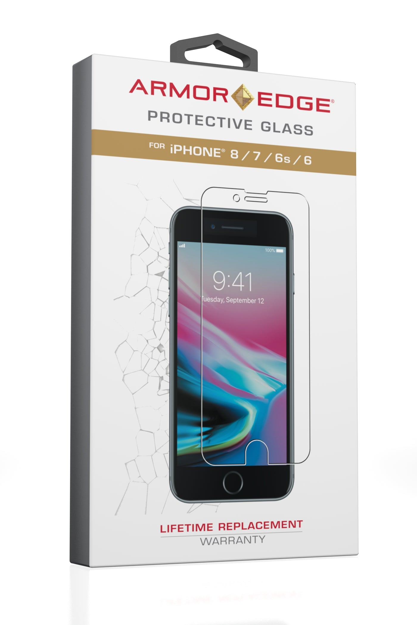 Armor Edge - Protective Glass for iPhone 6 / 6S / 7 / 8