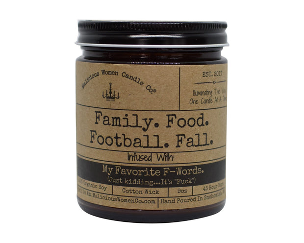 Family. Food. Football