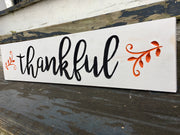 Thankful - Engraved