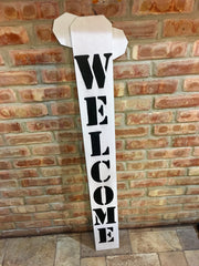 Tall Merry Christmas Welcome Reversible