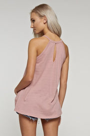 High Neck Tank Top
